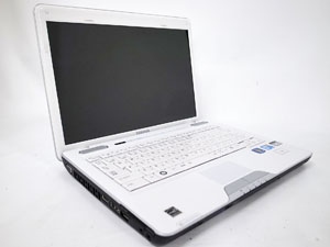 dynabook CXW/47KW (PACW47KLG10W) Win7 (PACW47KLG10W) 13.3インチ プロセッサ:Core 2 Duo P8700 2.53GHz メモリ:4GB ストレージ:320GB HDD  Windows7 Home Premium