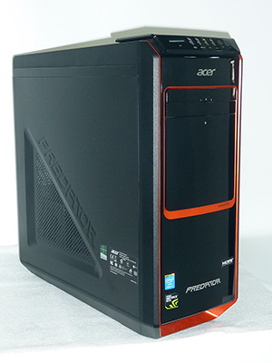 Predator G (AG3605-N78F/G) プロセッサ:Core i7 3.4GHz メモリ:8GB ストレージ:1000GB HDD  Windows8 64bit