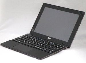 Aspire Switch 10 E シャークグレー 10.1インチ Windows 8.1搭載 タブレット プロセッサ:Atom 1.33GHz メモリ:2GB ストレージ: 64GB SSD (SW3-013-N12P/K)