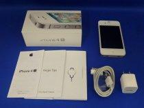 iPhone4S 16GB ホワイト(MD240J/A)au対応端末