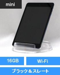 iPad mini Wi-Fi 16GB ブラック&スレート (MD528J/A)
