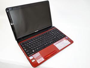 dynabook T351 モデナレッド (PT35134CSFR) 15.6インチ プロセッサ:Pentium Dual-Core 2GHz メモリ:4GB ストレージ:640GB HDD  Windows7 Home Premium(32bit/64bit)