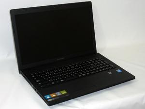 Lenovo G500 (59373974) ブラック 15.6インチ プロセッサ:Celeron 1005M 1.9GHz メモリ:2GB ストレージ:320GB HDD  Windows8 64bit