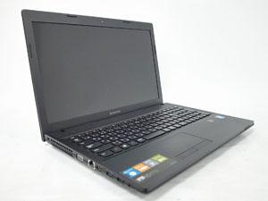 Lenovo G500 (59409306) ブラック 15.6インチ プロセッサ:Celeron 1005M 1.9GHz メモリ:4GB ストレージ:320GB HDD  Windows8.1 64bit