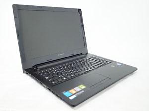 Lenovo G50 (80G000VVJP) ブラック 15.6インチ プロセッサ:Celeron N2830 2.16GHz メモリ:4GB ストレージ:500GB HDD  Windows8.1 with Bing(64bit)