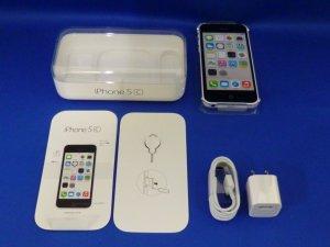iPhone5C 32GB ホワイト (MF149J/A) au対応端末