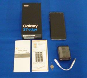 Galaxy S7 edge SCV33 Black Onyx au対応端末