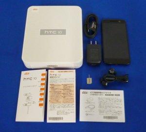 HTC 10 HTV32 カーボングレー HTV32SKA au対応端末