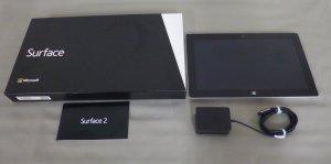 Surface 2 64GB 画面サイズ:10.6インチ/プロセッサ:NVIDIA Tegra 4/メモリ:2GB/ストレージ:64GB SSD   (P4W-00012)