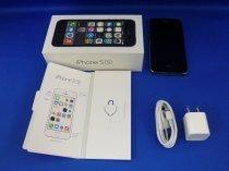 iPhone5S 16GB スペースグレイ (ME332J/A) au対応端末
