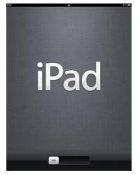 iPad初期化完了画面